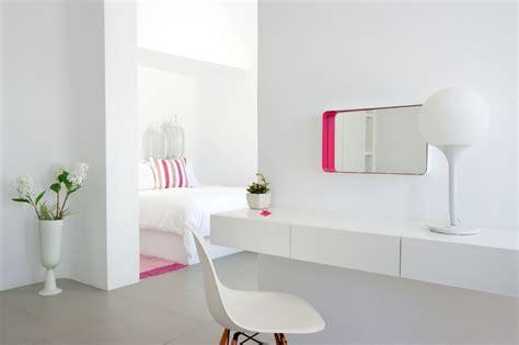 santorini grace pink and white decor interior design ideas