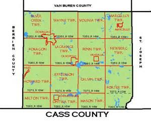 cass county map cass county