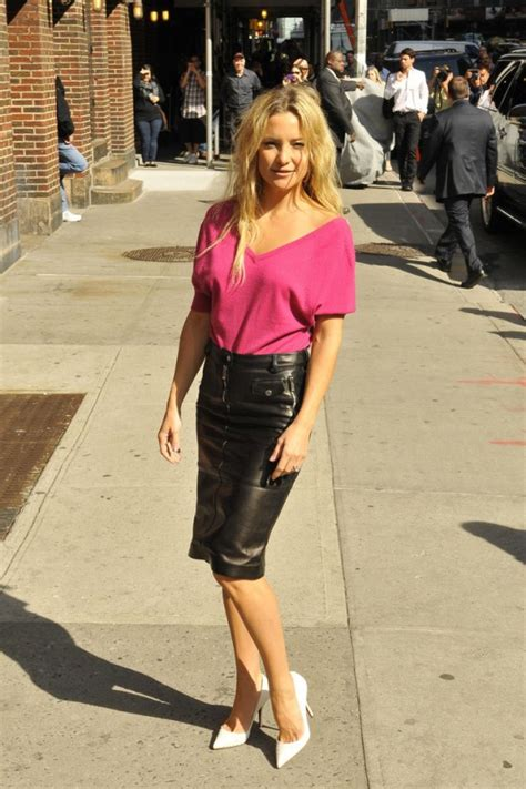 kate hudson in black leather mini skirt 21 gotceleb