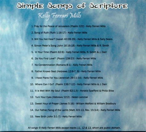 in his presence there is comfort lyrics simple songs of scripture cd