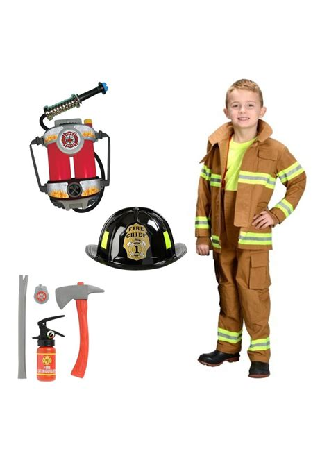 Costume Set firefighter boys costume set professional costumes
