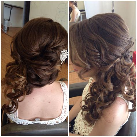 best 25 side swept updo ideas on prom hair updo bridal side bun and updo side