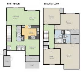 House Layout Maker create floor plans online for free with large house floor