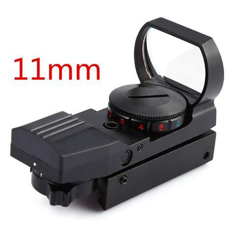 Reflex Sight Dot Scope 20mm Airsoft riflescope airsoft optics scope holographic dot sight reflex 4 reticle