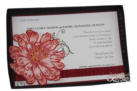 jinky s crafts designs diy box wedding invitations