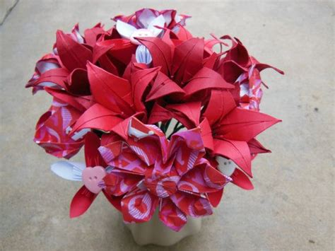 Origami Flower Arrangement - 1000 images about florigami fashions on