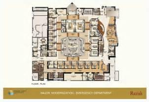 Emergency Room Hospital Floor Layout Plans Emergency