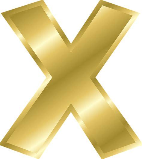 lettere d x image vectorielle gratuite lettre x lettre majuscule