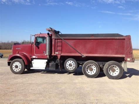 used kenworth w900 dump trucks sale kenworth w900 dump trucks for sale 155 used trucks from 9 500