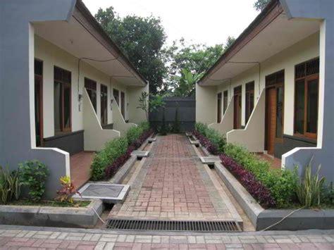 desain depan rumah kontrakan gambar contoh desain rumah kontrakan minimalis