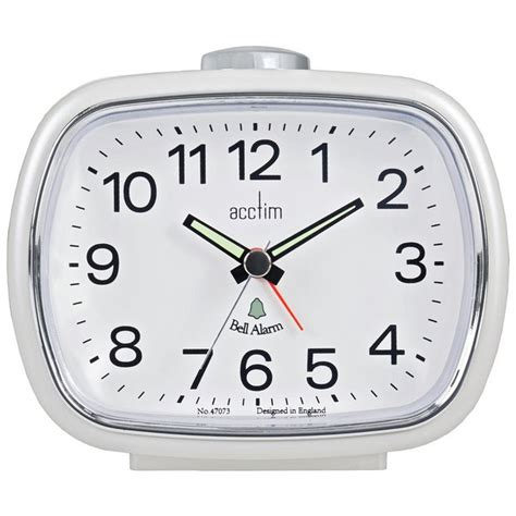 buy acctim camille bell alarm clock at argos co uk your shop for clocks home