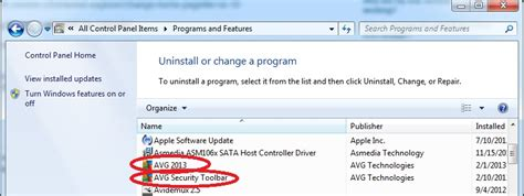 Secure Search Avg Secure Search Browser Toolbar Hijack Removal