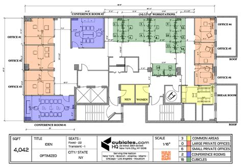 create an office floor plan office layout plan with 3 common areas officelayout