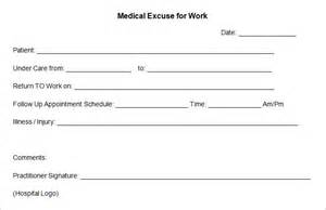 doctors excuse template doctor excuse template 9 free word excel pdf format