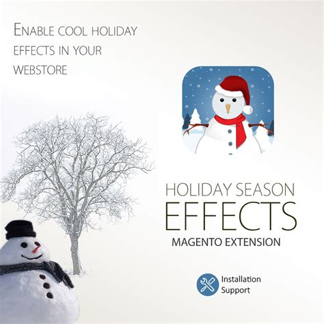 new year extension magento extension new year season snow