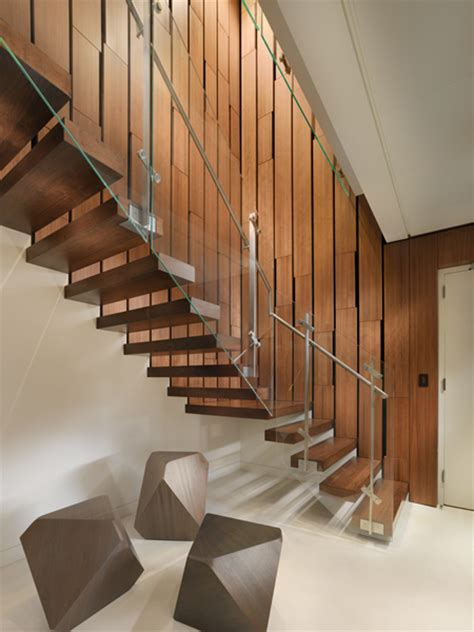 Interior Stairs Design In Duplex Apartments Amazing Interior Design Of Modern Duplex Penthouse Digsdigs