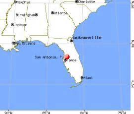 san antonio florida map san antonio florida fl 33576 profile population maps