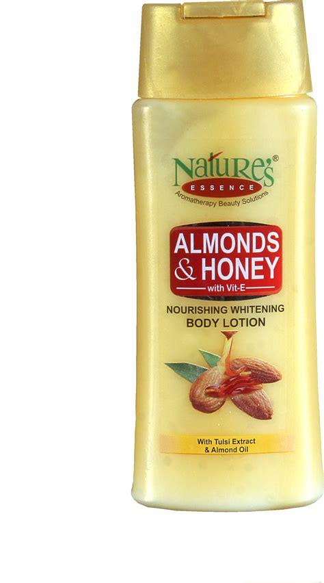 White Lotion Berhologram Original nature s essence almonds honey nourishing whitening lotion pack of 2 price in india