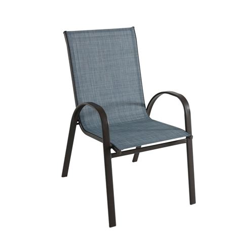 stackable outdoor dining chairs hton bay mix and match brown stackable outdoor