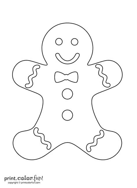 cute gingerbread man coloring page 25 best ideas about gingerbread man template on pinterest