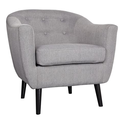 Nspire Overlea Accent Chair Grey Canada Online At Shop Grey Living Room Chair