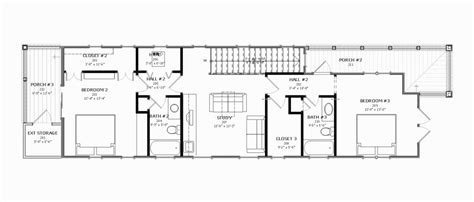 floor plan interest modern shotgun style house plans house plan 2017
