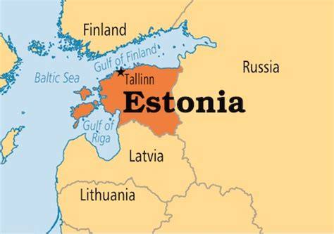 estonia on the world map estonia is a small country in northern europe that has