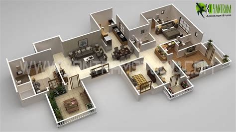 2828 house floor plan 3d 3d floor plan design interactive 3d floor plan yantram studio