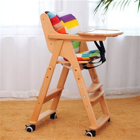 Child Booster Seat For Dining Chair 1 8 Years Multifunctional Solid Wood Tronas Child Dining