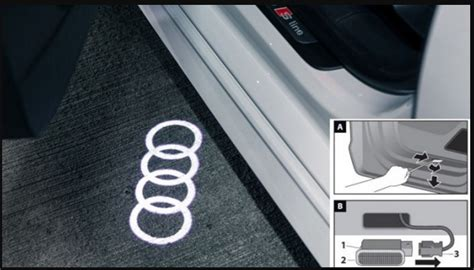 Audi Other Audi Beam Rings Led Door Entrance Lights