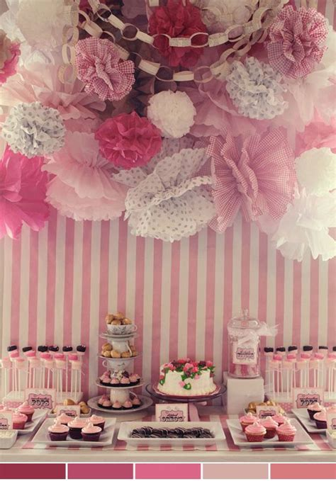 54 best quot pretty in pink quot baby shower theme images on