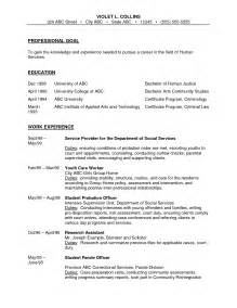 sle resume for correctional officer corrections officer resume sle