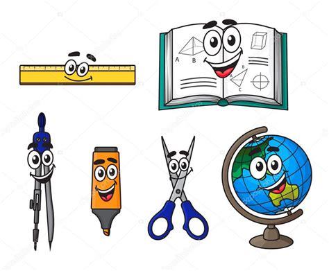 imagenes materias escolares feliz de dibujos animados los 250 tiles escolares vector de