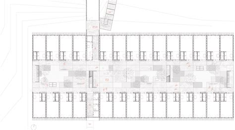 student housing plans student housing sant cugat h dataae gf plan arch housing pinterest