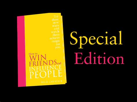 how to win friends 0091947464 how to win friends and influence people special edition amazon co uk dale carnegie
