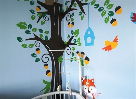 Forest Nursery Wall Decals Rock Shic Project Nursery