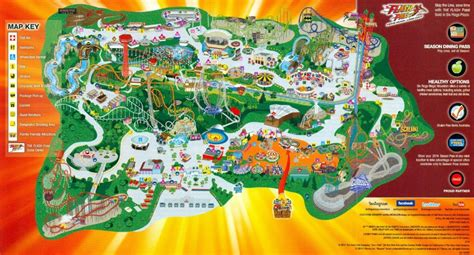 map of six flags 2014 sfmm map
