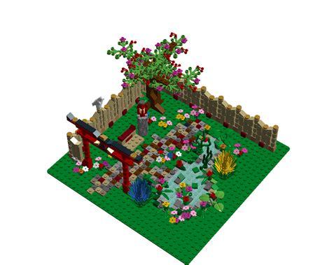 lego ideas japanese garden