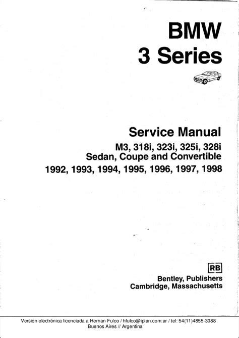 bmw   series workshop manual bentley publishers