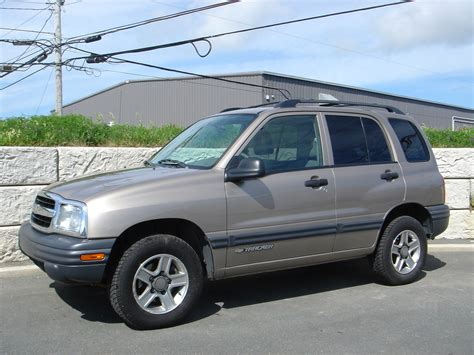 2003 chevrolet tracker 2003 chevrolet tracker information and photos momentcar