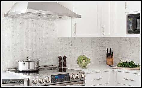 white mosaic tile backsplash white mosaic tile kitchen backsplash tiles home design