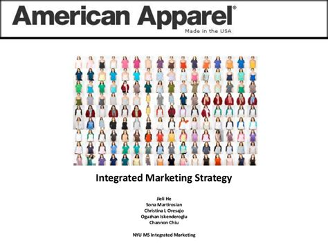 American Apparel Get Political american apparel integrated marketing strategy