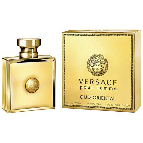 Parfum Oud Femme Versace Pour Femme Oud Eau De Parfum 100ml At Lewis