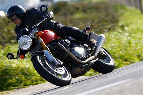Triumph Motorrad L by Triumph Thruxton 1200 R Erster Test Schon Gefahren