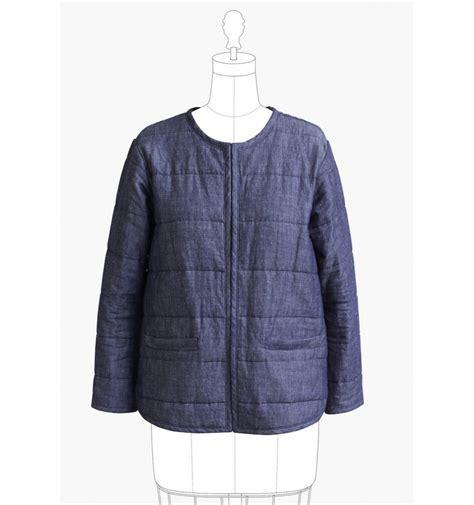 pattern sewing jacket tamarack jacket sewing pattern by grainline studio