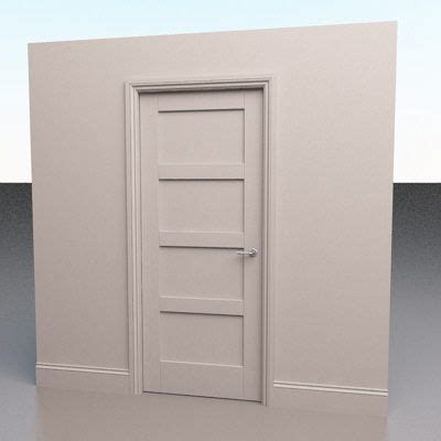 4 panel solid interior door forever home solid