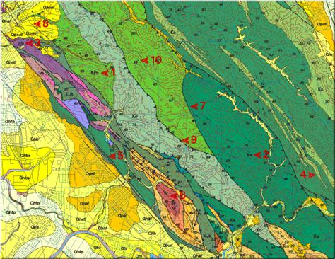 what is a geologic map