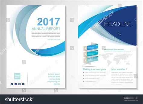 layout corporate brochure template vector design brochure annual report stock vector