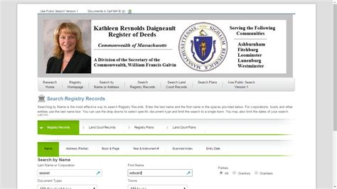 Land Registry Address Search Genea Musings Massachusetts Land Records Search By Name