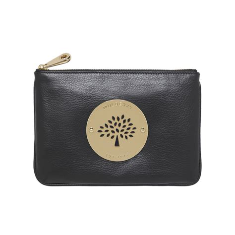 Mulberry Pouch mulberry pouch in black lyst